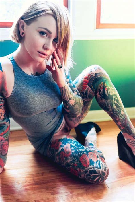 tattoo models gallery casper suicide elle lynn stanger elle stanger
