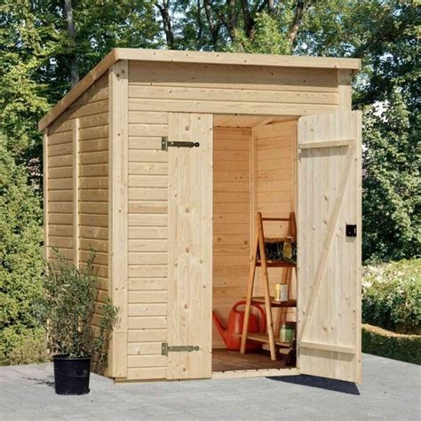 6x6 Shed by Palmako Pent Shed 6x6 Garden