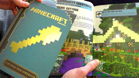 How To Make A Book Out Of Construction Paper - minecraft construction handbook review boxmash