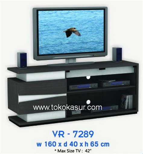 Meja Tv Import vr 7289 toko kasur bed murah simpati furniture