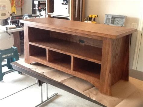 diy tv stand plans woodwork