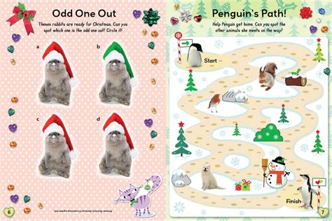 winter activity book for books winter sticker and activity book book by bee