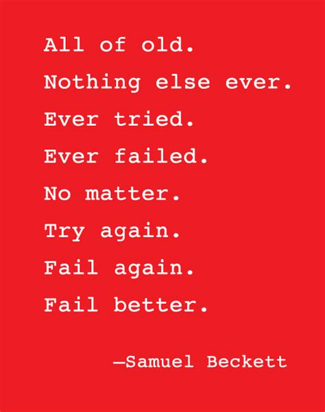 fail better fail better samuel becket