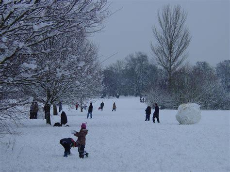 London Weather - Snowfall in London, February 2009