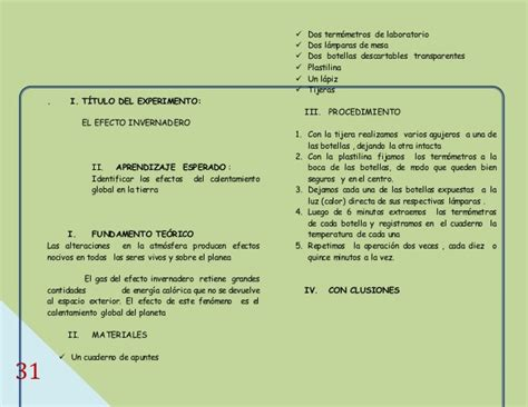 manual de experimento de ciencias para primaria manual de experimentos para ciencias en primaria