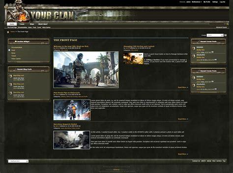drupal themes clan clan vbulletin 4 forum skin