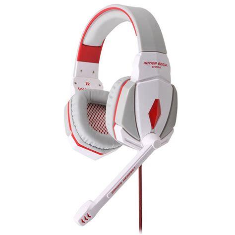Headset Each G4000 each g4000 gaming headset headband headphone usb 3