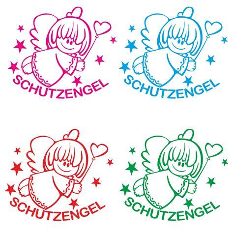Auto Schutzengel by Autoaufkleber Schutzengel Engel Sterne Auto Aufkleber
