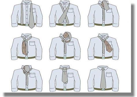 como hacer el nudo ala corbata aprenda a hacer nudos de corbata paperblog