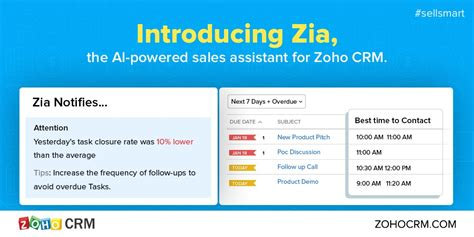 sle business plan virtual assistant zoho s zia the virtual sales assistant is reshaping sales