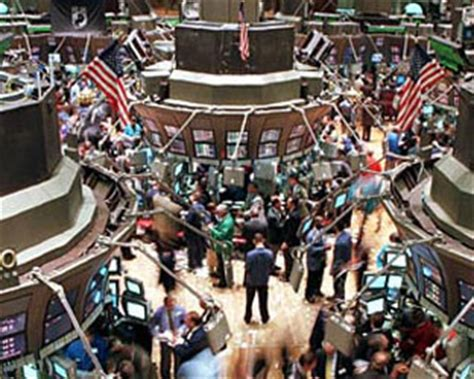 Wall Trading Floor by A Weak End For Media Stocks Radio Television Business