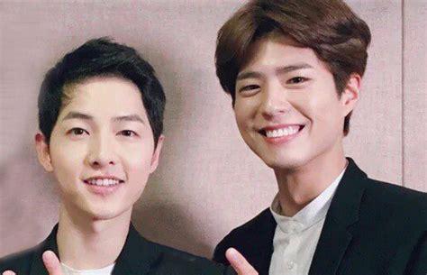 Kaos Song Jong Ki gantian song joong ki beri dukungan untuk park bo gum di