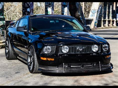 supercharged 2006 mustang gt one take youtube