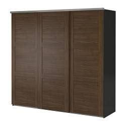 the of ikea elga wardrobe with 3 sliding doors - Ikea Large Wardrobe