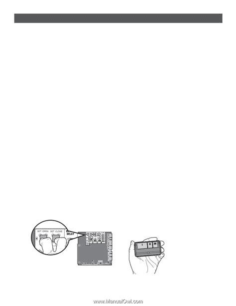 liftmaster garage door opener manual error code