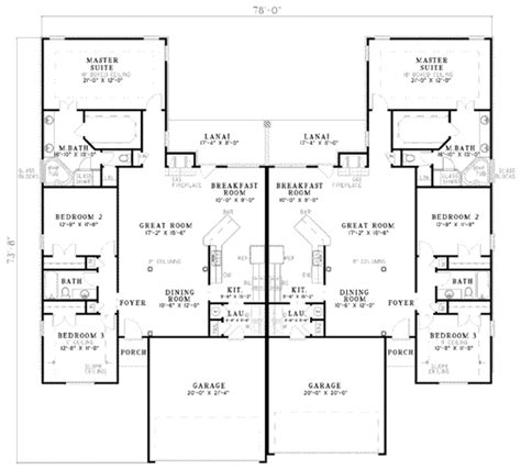 how big is 3500 square feet mediterranean style house plan 3 beds 2 baths 3500 sq ft