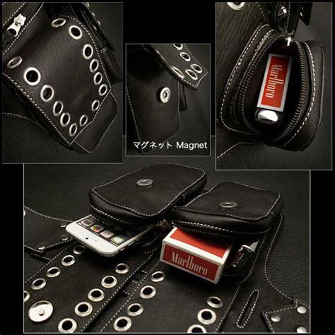 Waist Bag 1433 By Shop Id 楽天市場 バイカーズ ウエストバッグ ヒップバッグ 本革 レザー s genuine biker