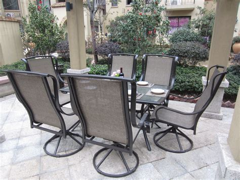 Patio Chairs Swivel Decorative Swivel Patio Chairs All Home Design Ideas