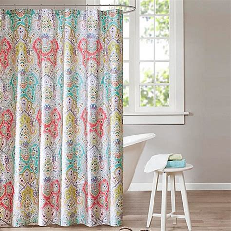 echo curtains echo design cyprus shower curtain bedbathandbeyond ca