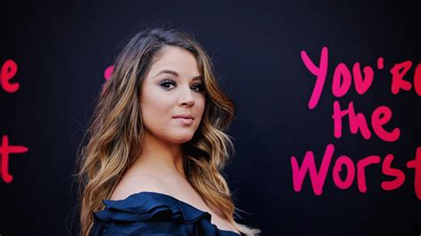 Exclusive Lindsay Nixes Deal by Exclusive You Re The Worst Kether Donohue Talks