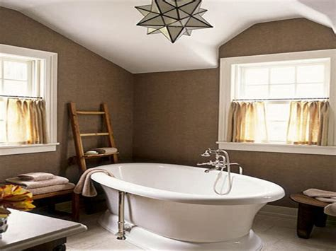 brown painted bathrooms calm paint color for house your dream home