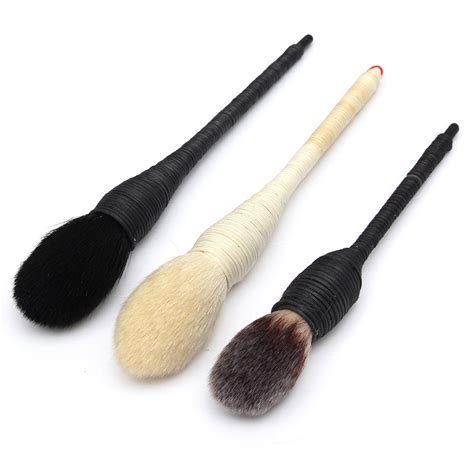 Handmade Hair Brushes - new professional blush powder brush nature goat hair