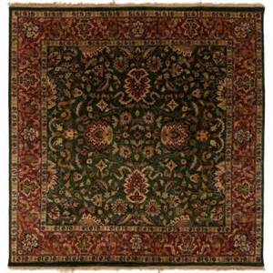 artistic weavers ardashir forest green 8 ft square