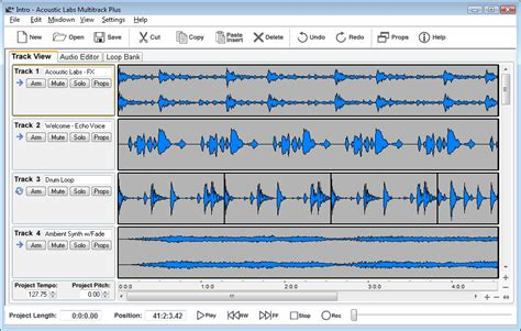 download mp3 cutter and mixer software acoustic labs multitrack plus www