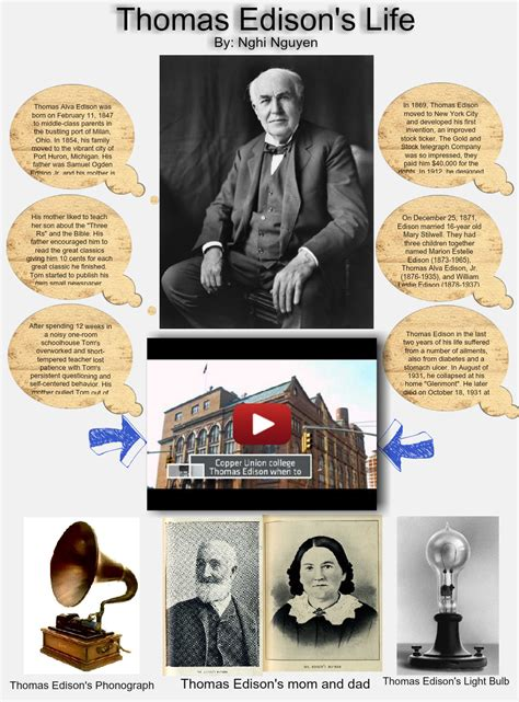 thomas edison biography for middle school thomas edison s life alva biography bulb edison en