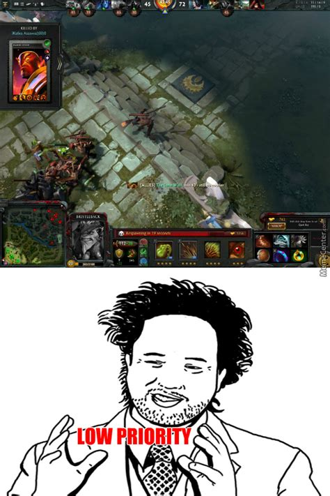 Meme Dota - dota 2 low priority matches in a nutshell by