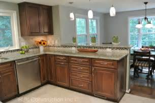 u shaped kitchen remodel contemporary kitchen dc