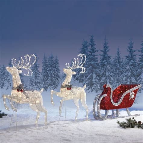christmas sleigh outdoor indoor christmas decoration