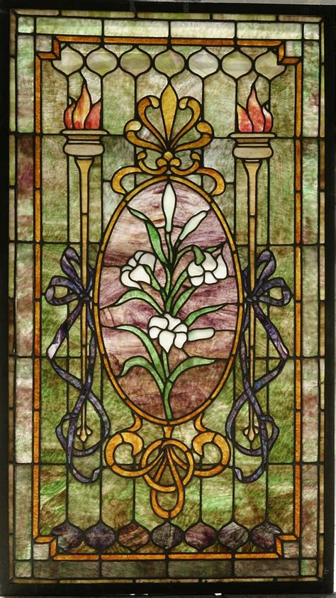 Antique Stained Glass Door Stained Glass Windows Archives The Antique Traders