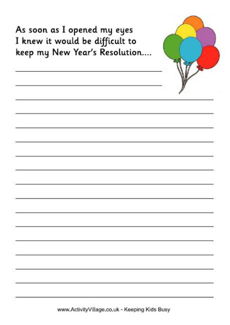 new year 2016 story ks2 2016 goal setting printable for calendar template 2016
