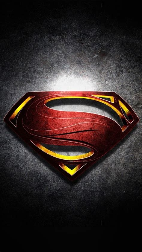wallpaper android superman android best wallpapers superman logo with noise