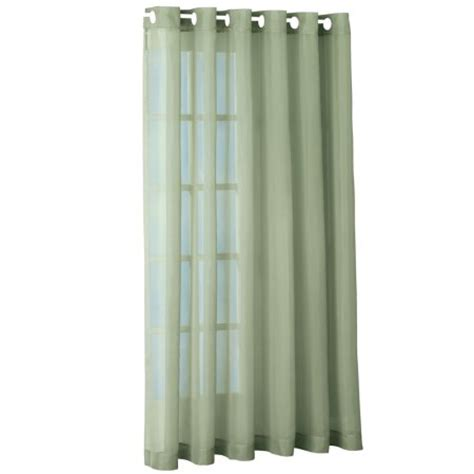 extra wide grommet top curtains sheer privacy back patio 100 quot w extra wide grommet top