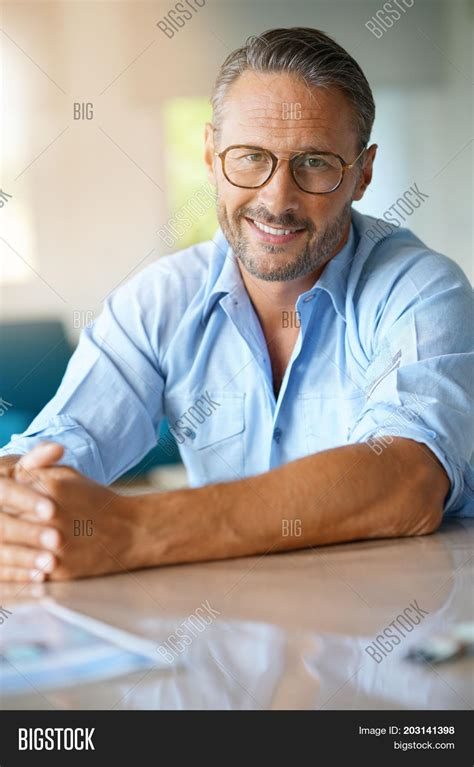 45 years old man pics portrait handsome 45 year old man image photo bigstock