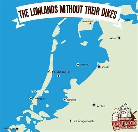 netherlands dikes map 17 beste afbeeldingen landkaarten op
