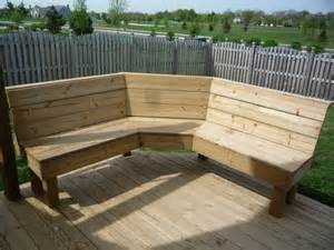 outdoor corner bench outdoorlivingdecor