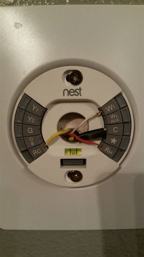 nest thermostat 2 wire hookup wiring diagram with