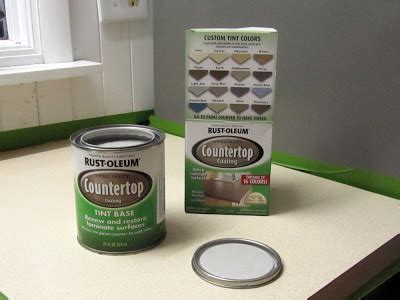 Rustoleum Countertop Paint Colors by The Updated Laminate Countertops