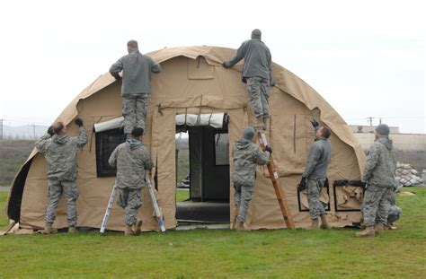 tent building crw airmen learn basic tent building gt travis air force
