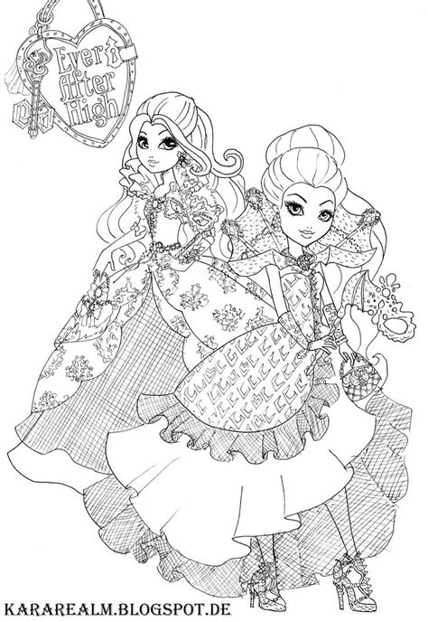 bunny blanc coloring pages bunny blanc ever after high coloring pages coloring pages