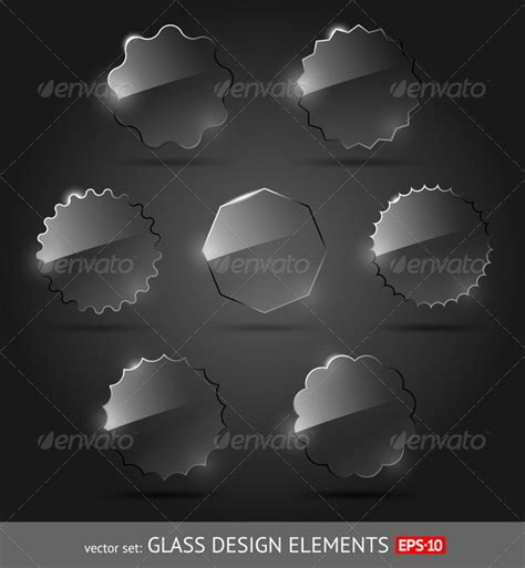 glass design elements 25 vector glass ui elements in photoshop 187 tinkytyler org stock