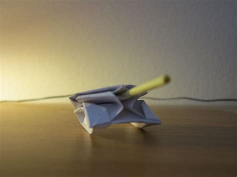 How To Make An Origami Tank - how to make a origami paper tank