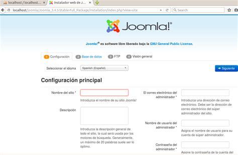 tutorial joomla spanish tutorial xp joomla el cazador de la web