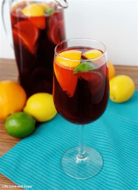 red wine sangria recipe life love and sugar