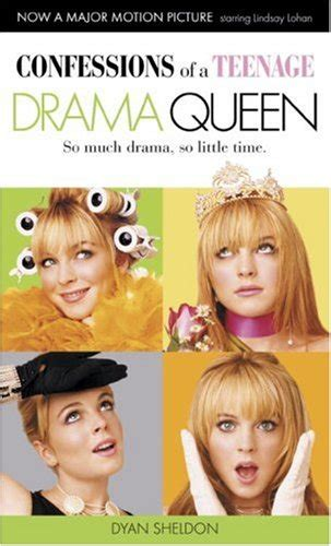 drama queen film cast confessions of a teenage drama queen movie tie in edition
