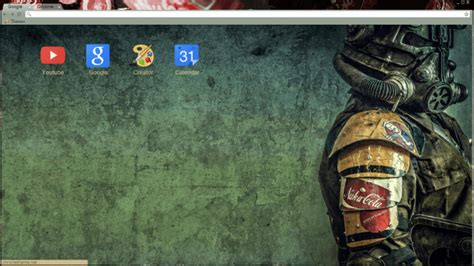theme google chrome fallout 10 best fallout chrome themes firefox themes for true