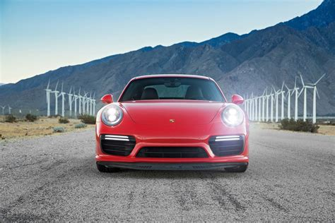 porsche 911 front view 2017 porsche 911 turbo s first test review the weapons